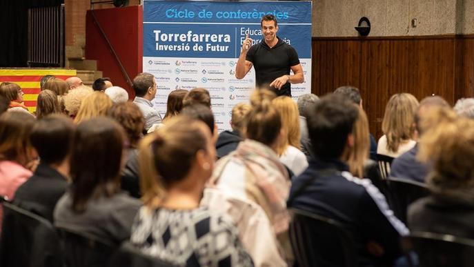 Conferència de Sergi Grimau sobre lideratge a Torrefarrera