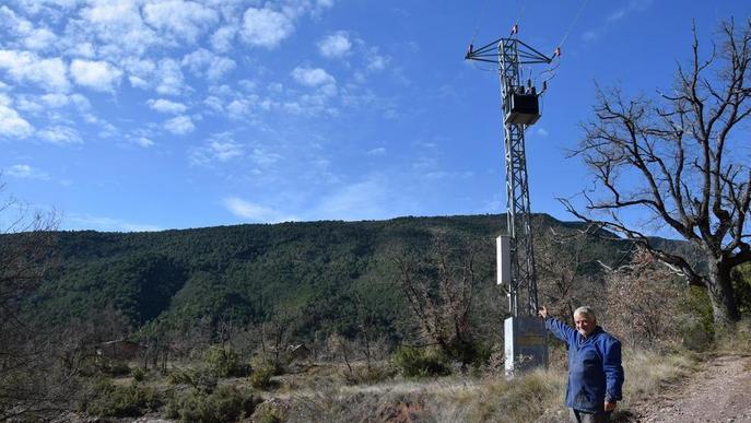 Integra Pirineus desbrossarà la línia per portar la llum als 50 veïns de Sallent