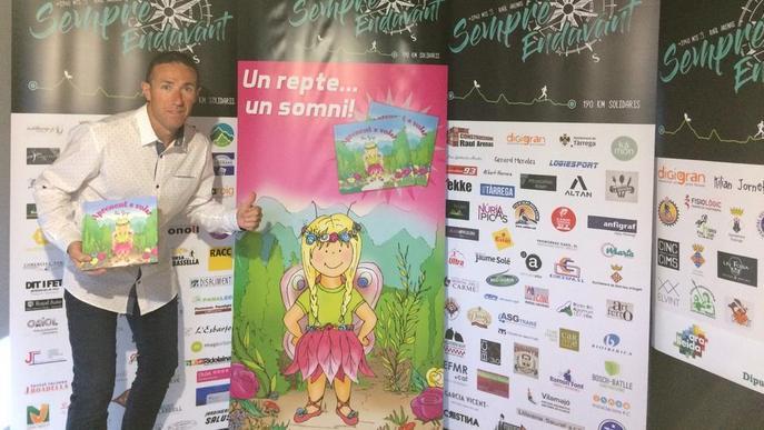 El repte solidari de l'atleta Raül Arenas, aconseguit