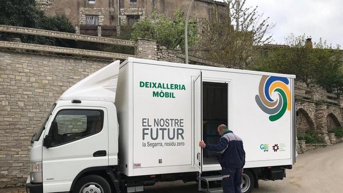 Nova deixalleria mòbil per potenciar el servei comarcal de la Segarra
