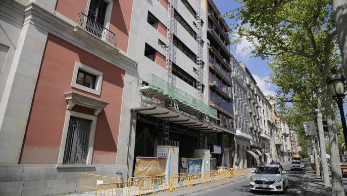 La Diputació de Lleida desencalla les obres del nou edifici