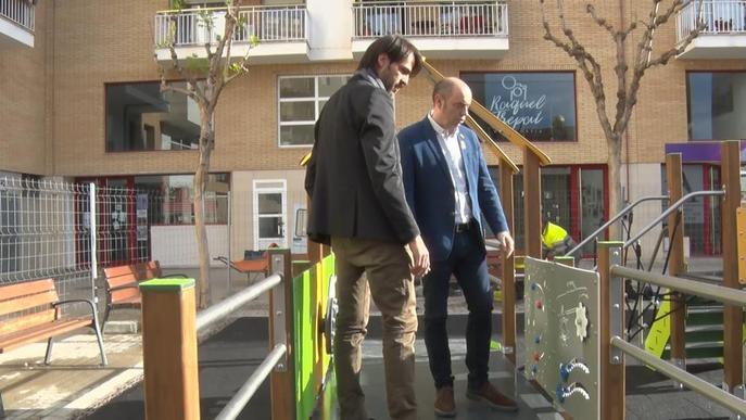 Balaguer estrena un parc adaptat a discapacitats