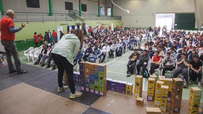 Jornada sobre ciència i tecnologia per a 350 alumnes a Tàrrega