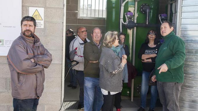 Jornada de portes obertes a la potabilitzadora de Vilagrassa