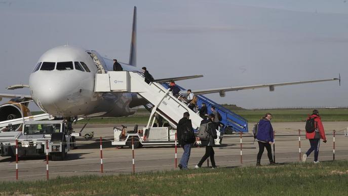 Només 11.600 passatgers britànics aquest hivern a Alguaire