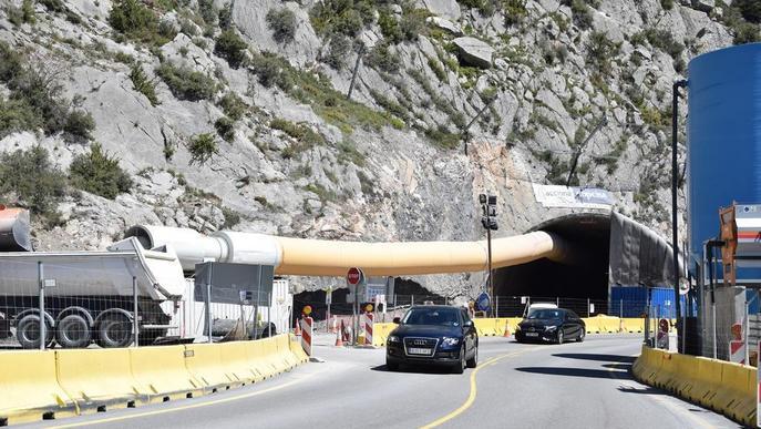 Excaven els primers 500 metres del túnel de Tres Ponts