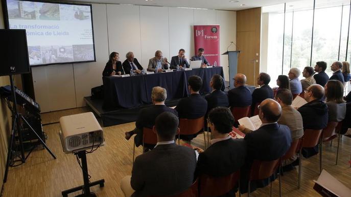Un estudi diu que Lleida necessita més comunicacions