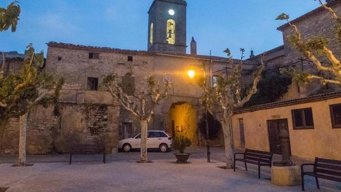 El rellotge de l'església de Tarroja torna a sonar