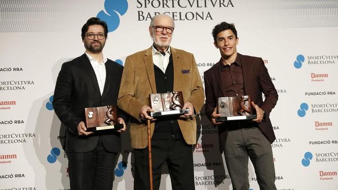 La moto de Marc Márquez campiona del 2018 ja lluu al Museu de Cervera