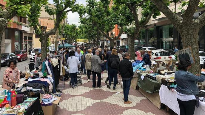 Mercat solidari amb quaranta parades i festa del comerç just a Balaguer