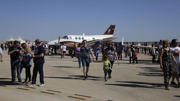 Empreses aeronàutiques de cinc països es reuneixen a la fira Air Challenge d'Alguaire