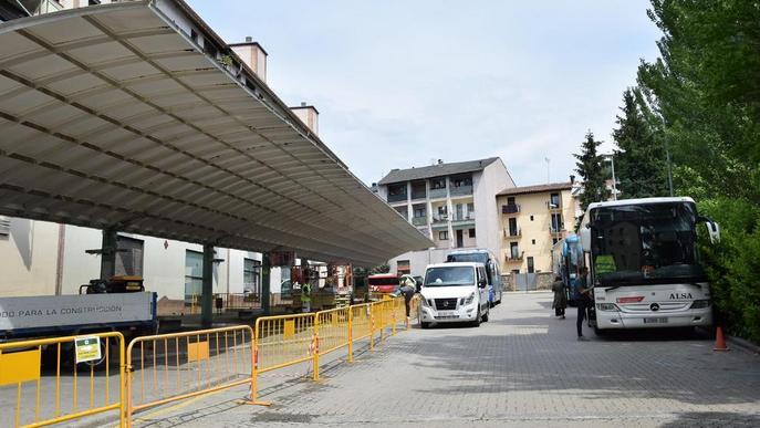 Comença la rehabilitació de l'estació de busos de la Seu, que estarà a punt a la tardor