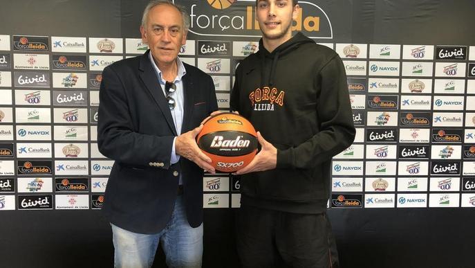 El Força Lleida renova Sierra per dos temporades