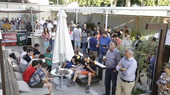 Festa de fi de curs del Força Lleida