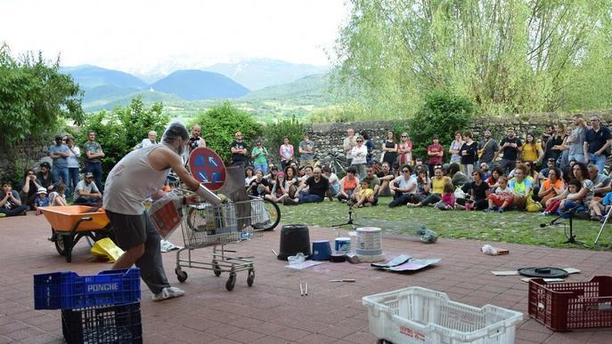 La unió d'art i bicicletes torna a la Seu d'Urgell amb Art a Pinyó