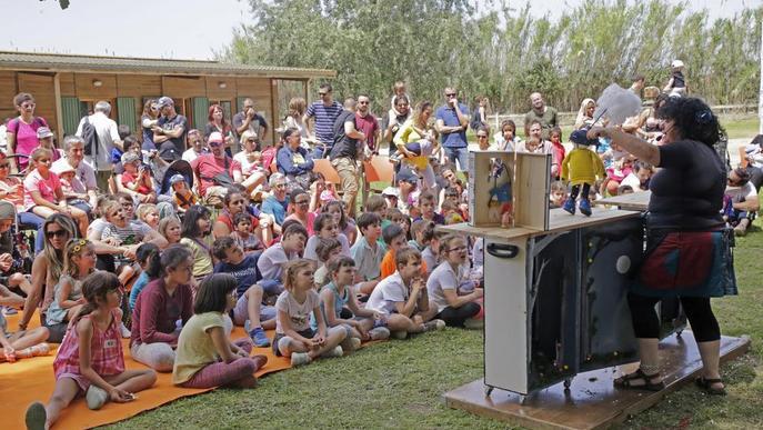 Jocs i tallers en família a la Festa de la Mitjana