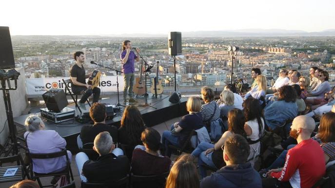 Cesk Freixas obre el cicle 'Terrats en cultura' al Castell del Rei