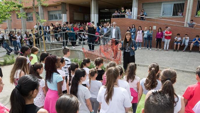 L'escola Magraners estrena amb una festa el nou pati