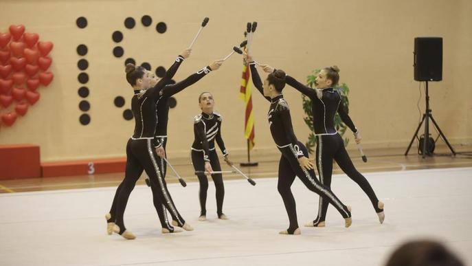 Més de 350 gimnastes es reuneixen al Sícoris