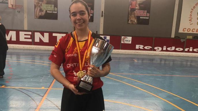 Laura Porta, campiona d'Espanya sub-18 amb Catalunya