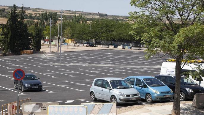 Tàrrega reobre un pàrquing millorat i l'amplia amb 70 places