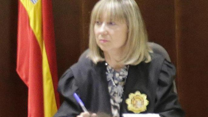 María Lucía Jiménez, primera presidenta de l'Audiència