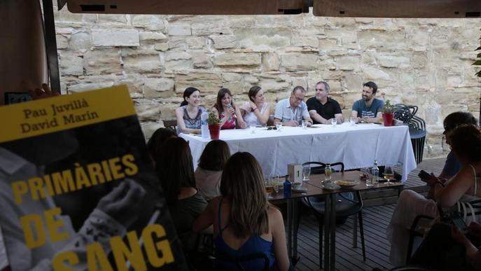 Juvillà i Marín presenten el llibre 'Primàries de sang' a la Seu Vella