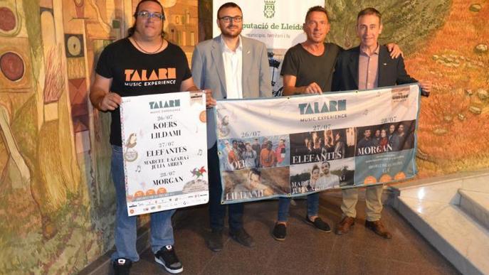 """Música i gastronomia """"de luxe"""" en un entorn natural a Talarn"""
