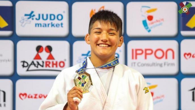 Ai Tsunoda, del Dojo Lleida, campiona d'Europa cadet