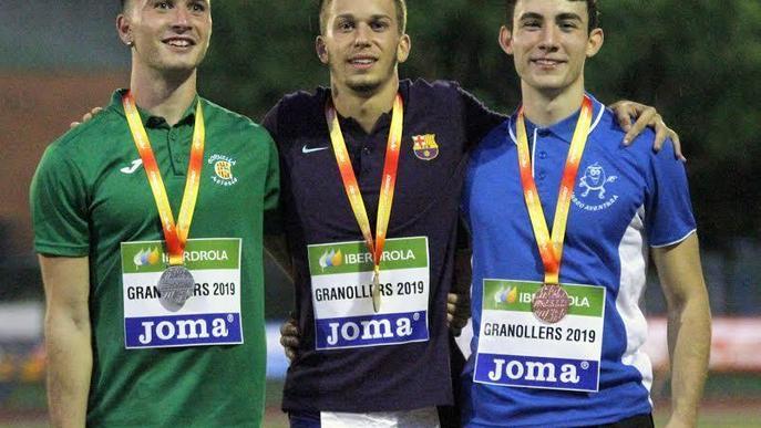 Tres atletes lleidatans en els Europeus sub-23 i sub-20