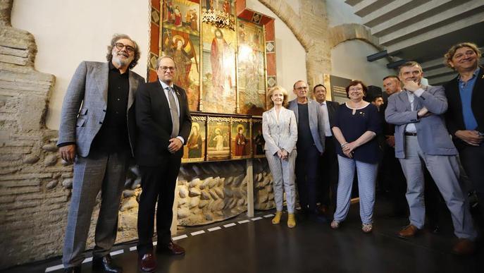 """Tatxo Benet, mecenes del Museu de Lleida després de l'""""acció violenta"""" de l'11-D"""