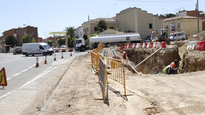 L'accés a la carretera de Vallmanya, tancat 2 mesos
