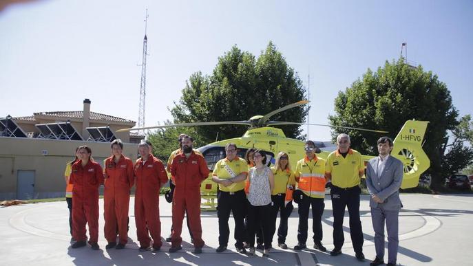 L'helicòpter del SEM ha fet més de cinquanta vols nocturns a Lleida en només sis mesos