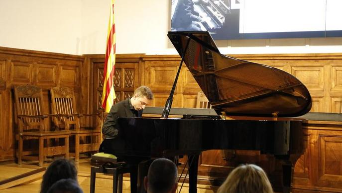 El pianista Eudald Buch obre el 19 Festival de Rialp