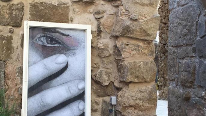 Art de terra, aigua i aire a Lo Carreró de Montgai