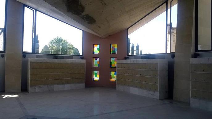 El cementiri de Lleida ja té 144 nous columbaris