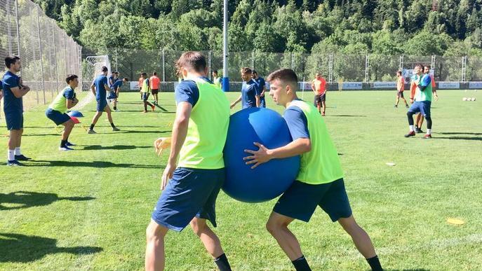 El Lleida interromp avui l''stage' a Aran per jugar la Copa Catalunya
