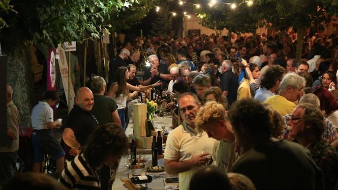El vi i el jazz prenen els carrers de Figuerola d'Orcau al Jazzivi