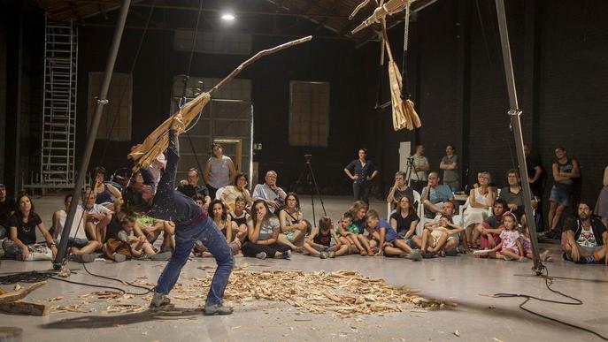 FiraTàrrega mostrarà obres de vuit companyies lleidatanes