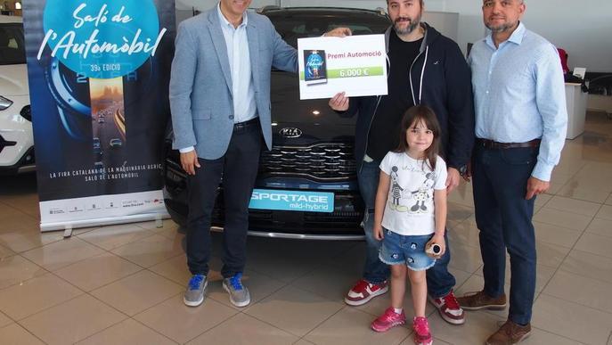 Entreguen els 6.000 € del Saló de l'Automòbil de Sant Josep