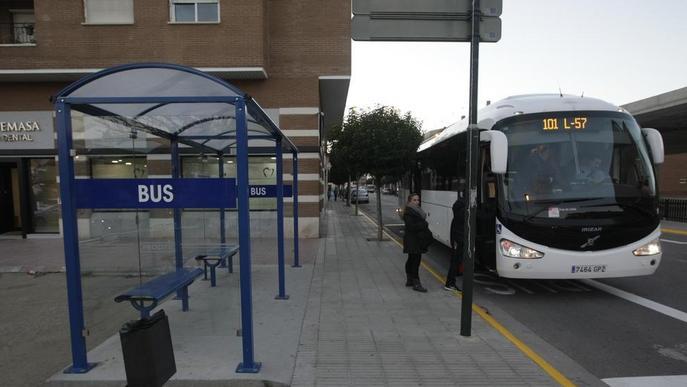 Rècord de passatgers als busos interurbans de Lleida