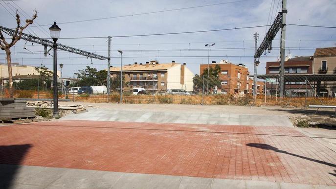 Cervera estrenarà el nou pàrquing al costat de l'estació al setembre