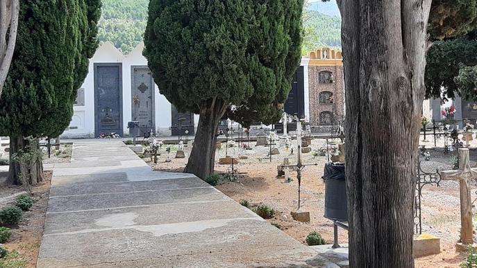Organyà busca els propietaris o hereus de setze nínxols del cementiri