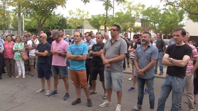 Concentració dels funcionaris de la presó