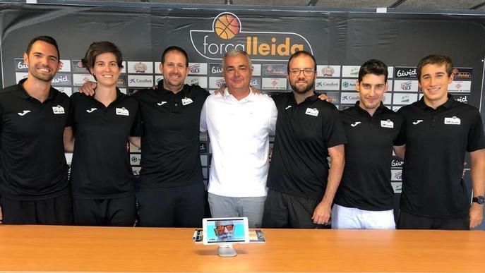 El Força Lleida presenta els seus nous tècnics