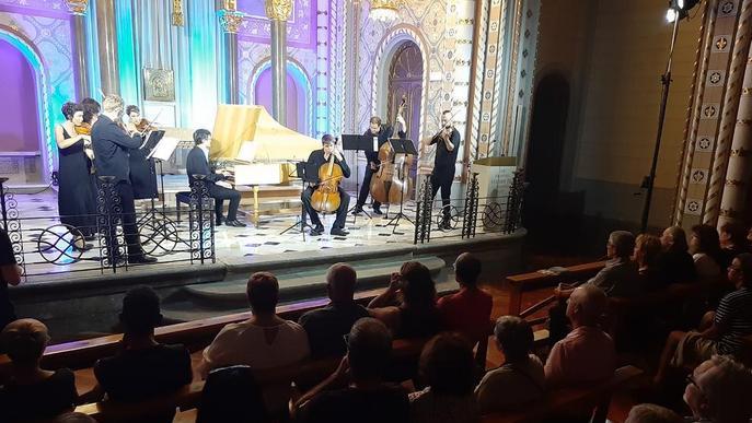 La Seu d'Urgell tanca el Festival dels Pirineus amb obres de Bach