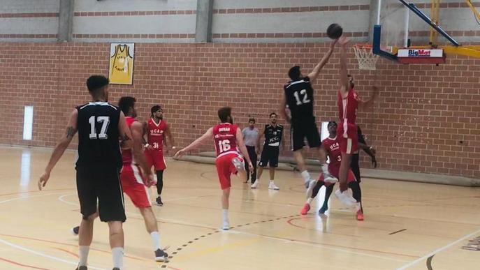 Sessió del Força Lleida amb el Múrcia d'ACB