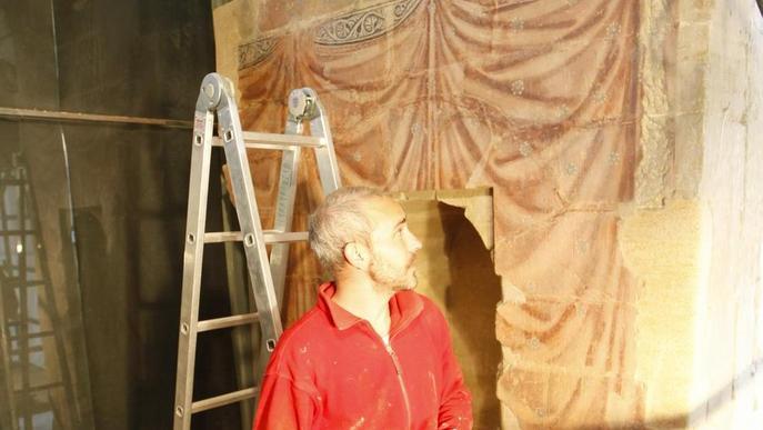 El lleidatà Ramon Solé, assessor de les obres de restauració de la Seu Vella