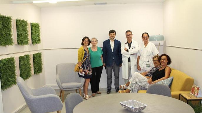L'Arnau estrena una sala per atendre millor els pacients oncològics