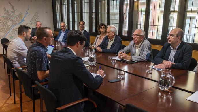 Grup de Treball de Paeria i empreses per a la millora del polígon El Segre